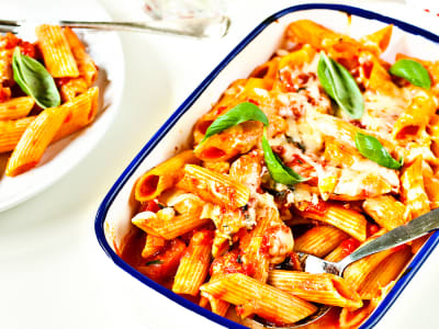 Image forBaked Penne Pasta