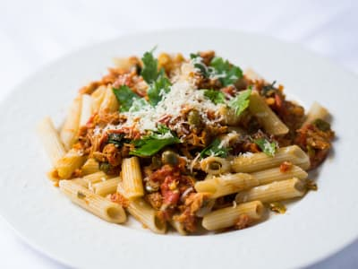 Image forPasta with Tuna and Capers