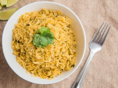 Image forLime and Cilantro Rice