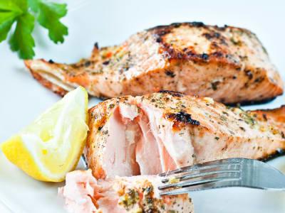 Image forGarlic-Honey Baked Salmon