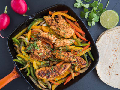 Image forChipotle Chicken Fajitas