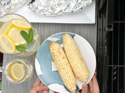 Image forChili-Lime Corn in Foil