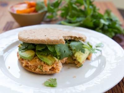 Image forKimchi Tuna Salad Sandwich