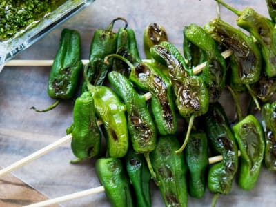 Image forChimichurri Shishito Peppers