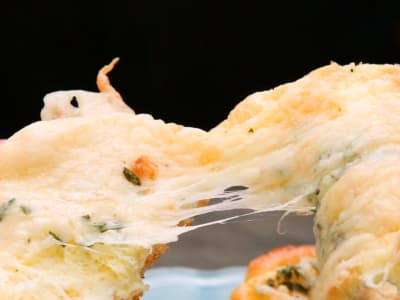 Image forCheesy Garlic Cloud Bread