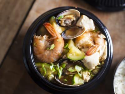 Image forKorean Sundubu Jigae (Soft Tofu Stew)