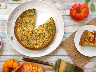 Image forSpiralized Zucchini Frittata