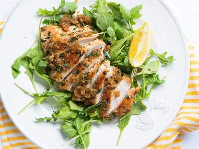 Image forQuick Pan-Fried Tarragon Chicken