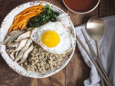 Image forKorean Bibimbap Mixed Rice Bowl