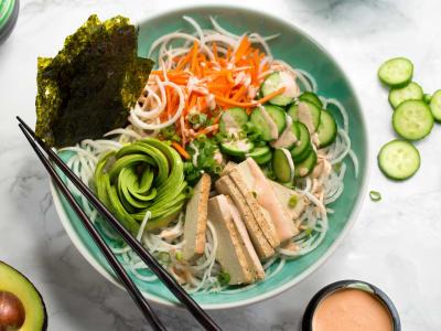 Image forSpiralized Vegan Sushi Bowls