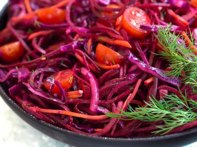 Image forBorscht Ribbon Salad