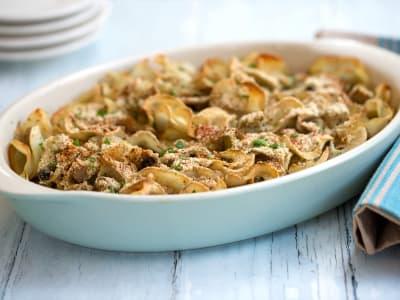 Image forVegan Tuna Noodle Casserole