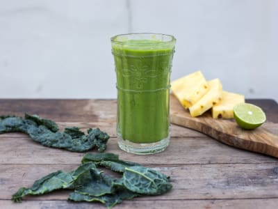 Image forPineapple Kale Smoothie