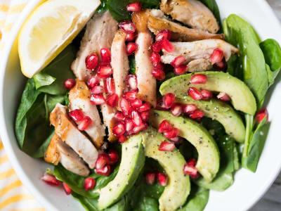 Image forQuick Chicken and Pomegranate Salad