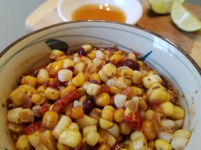 Image forRoasted Red Pepper and Corn Salsa