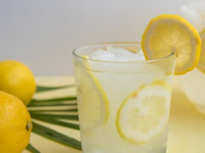 Image forRose Water and Lemon Juice