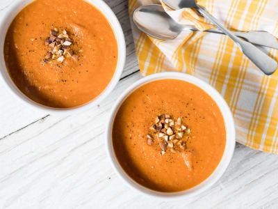 Image forSuper-Creamy Vegan Tomato Soup