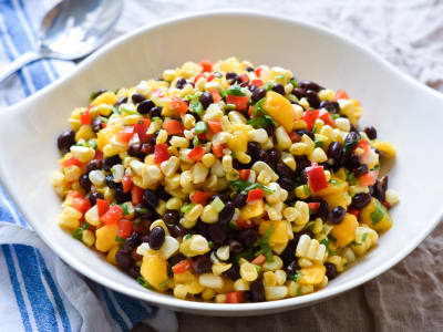 Image forCorn, Mango, and Black Bean Salad