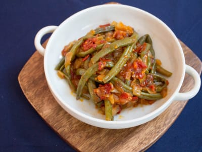Image forGreek-Style Braised Green Beans