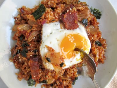 Image forKimchi Fried Rice with Pork Belly