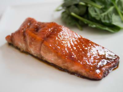 Image forMaple Teriyaki Salmon