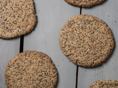 Image forVegan Flaxseed Cookies