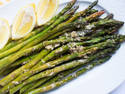 Image forParmesan Roasted Asparagus