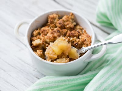 Image forVegan and Gluten-Free Apple Crumble