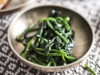 Image forKorean Spinach Banchan Side Dish