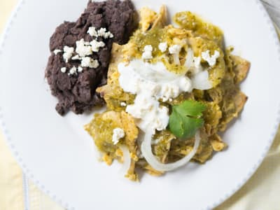 Image forMexican Salsa Verde Chilaquiles