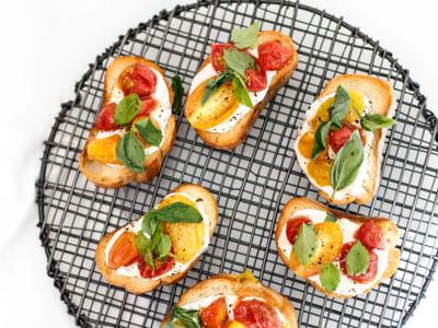 Image forRoasted Tomato Bruschetta