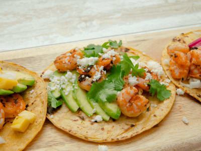Image forGrilled Sriracha-Lime Shrimp Tacos