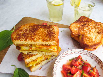 Image forKorean Omelet Sandwich