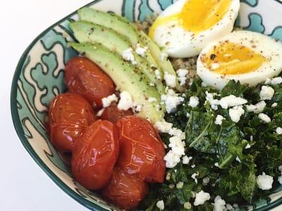 Image forSavory Quinoa Breakfast Bowl