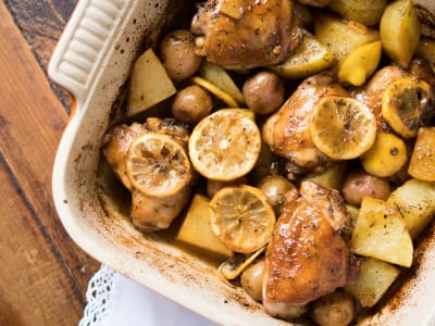 Image forRoasted Lemon Chicken with Potatoes