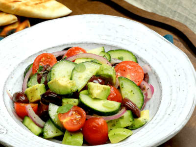 Image forGreek Avocado Salad