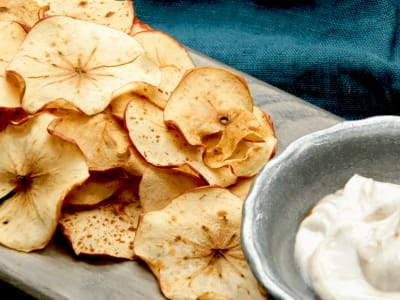 Image forApple Pie Chips and Dip