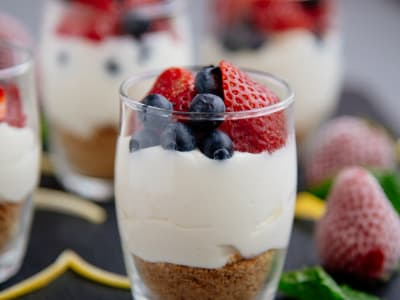 Image forEasy Cheesecake Parfait