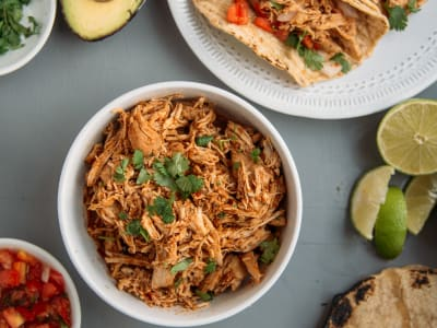 Image forSlow Cooker Pulled Chicken Tacos