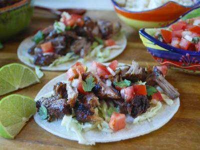 Image forMeal Prep: Pressure Cooker Crispy Pork Carnitas