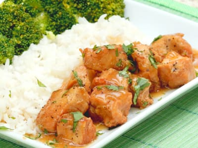 Image forSlow Cooker Honey-Ginger Chicken