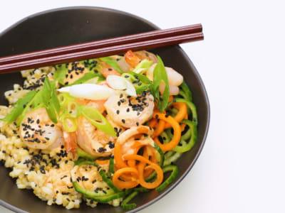 Image forShrimp Sushi Bowls