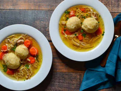 Image forSlow Cooker Matzo Ball Soup