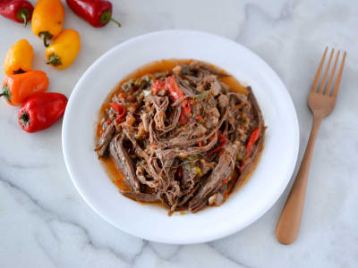 Image forSlow Cooker Cuban Ropa Vieja