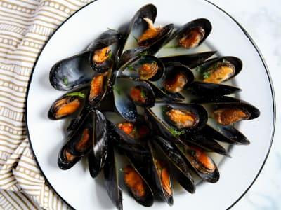 Image forPressure Cooker Steamed Mussels