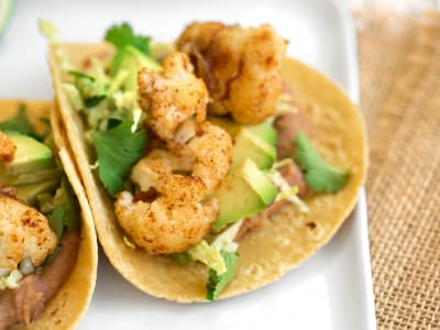 Image forSeared Cauliflower Tacos