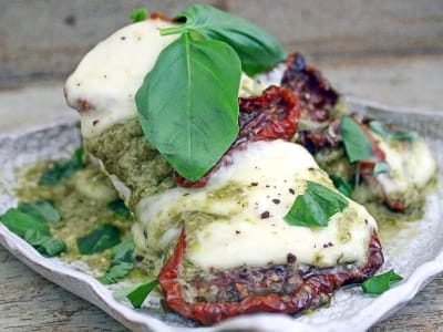 Image forThe Ultimate Chicken and Mozzarella Bake