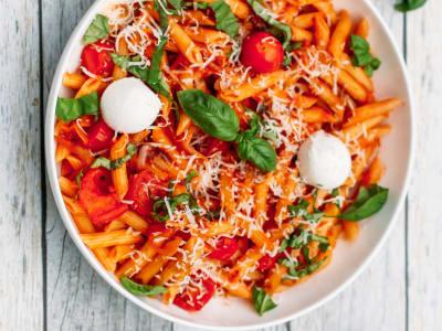 Image forPressure Cooker Pasta Caprese