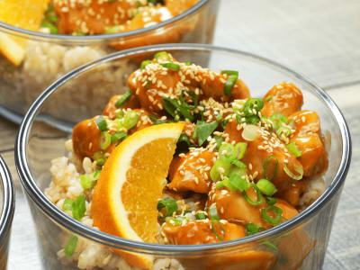 Image forMeal Prep: Skinny Orange Chicken