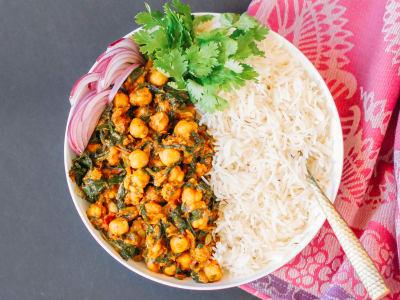 Image forPressure Cooker Chana Saag